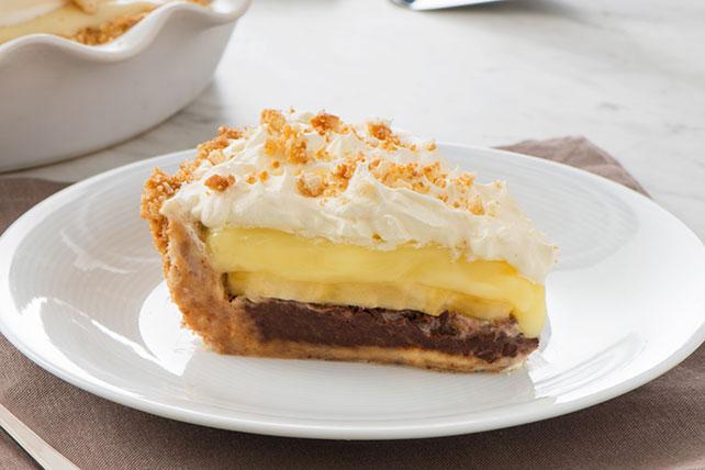 Tarta (Pie) de banana y crema Image 1