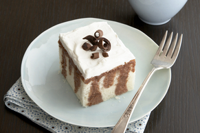 Pastel de chocolate tres leches