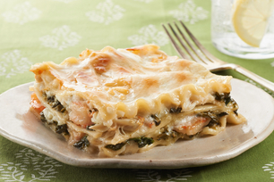 No-Fail Baked Seafood Lasagna