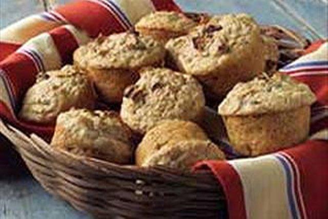 Panecillos de compota de manzana y salvado Image 1