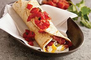 Burrito para el desayuno
