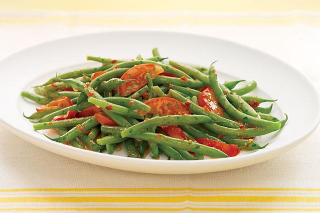 Ejotes y tomates a la italiana Image 1