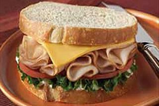 Ham'N Cheese Sandwich Image 1