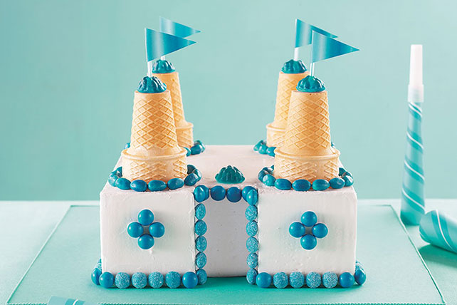 Snow Castle Cake Image 1