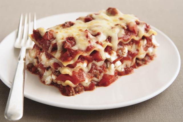 Lasagne Idee Recette.La Meilleure Lasagne Au Fromage Et A La Viande
