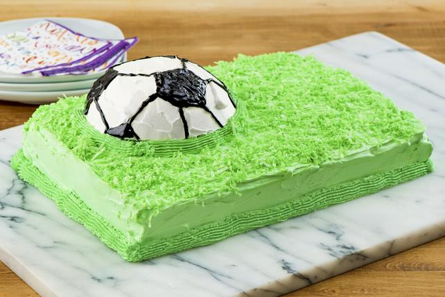 Gâteau ballon de soccer du championnat Image 1