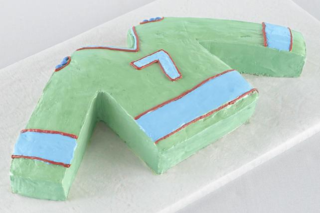 Hockey Jersey Cake Image 1
