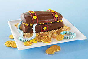 Hidden Treasure Chest Cake Image 1