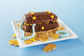 Hidden Treasure Chest Cake