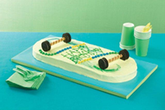 Gâteau planche à roulettes Image 1