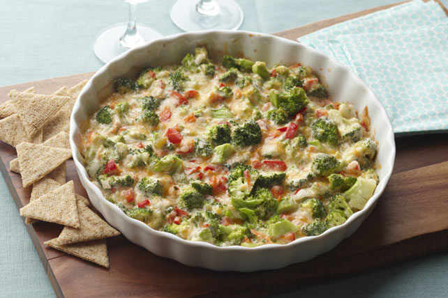 Zippy Hot Broccoli Dip Madeover