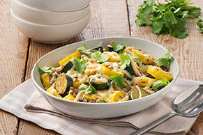 Cheesy Summer Squash