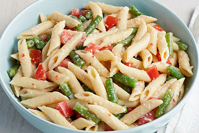 Fresh Green Bean-Pasta Salad Image 1