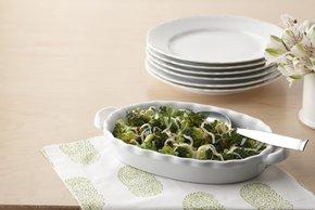 Brócoli con queso de rápida preparación