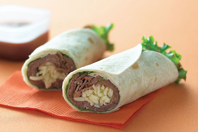 BBQ Beef Wrap Image 1