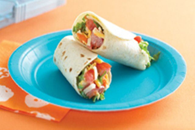 Super Veggie Wrap Recipe Image 1