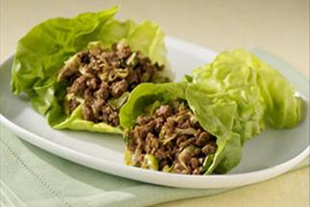 Asian Lettuce Wraps  Image 1