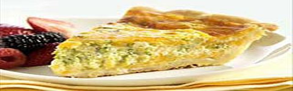 Savory Leek & Ham Quiche Image 1
