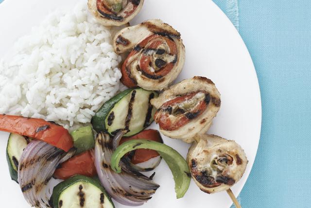Rollos de pollo asado con salsa picante Image 1