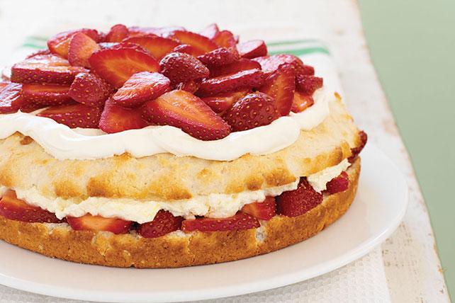 Gâteau sablé aux fraises simplement sensationnel Image 1