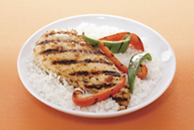 Sun-Dried Tomato Grilled Chicken & Vegetables