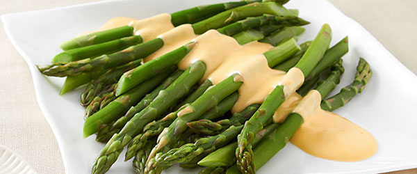 Cheesy Miracle Asparagus
