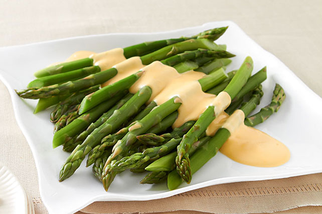 Cheesy Miracle Asparagus Image 1