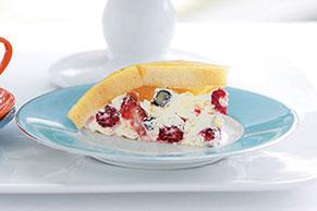 Creamy Berry Cake Mosaic