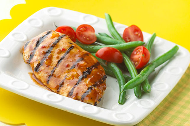 Easy Glazed BBQ Chicken Image 1