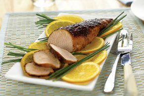 Honey Spice-Rubbed Pork Tenderloin