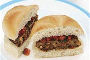 Cheesy Mushroom Burgers