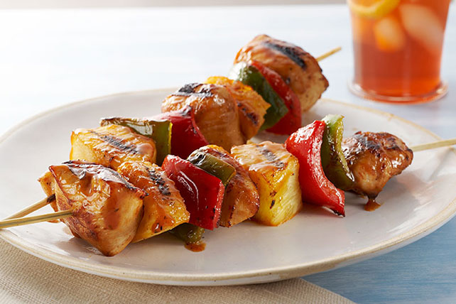 Sweet BBQ Chicken Kabobs Image 1