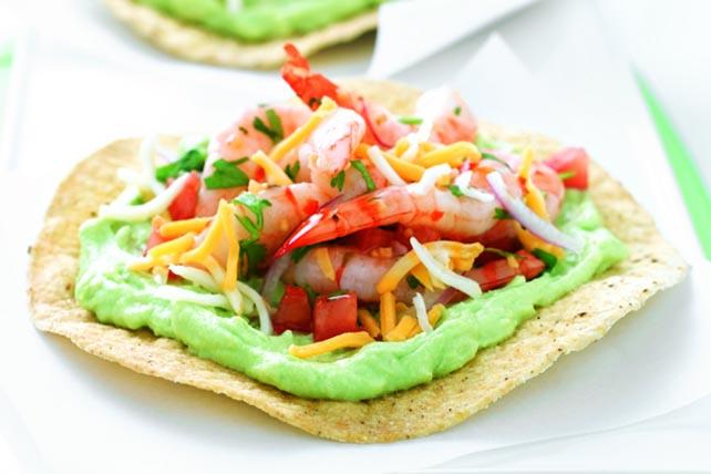 Tostadas mexicanas con ceviche Image 1