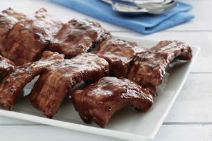 Speedy Saucy Ribs