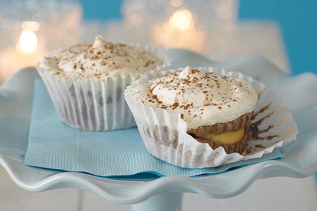 Petits gâteaux à la crème au chocolat sans cuisson Image 1