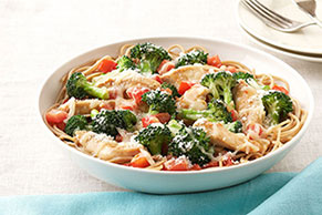 Parmesan, Broccoli & Chicken Pasta for Two