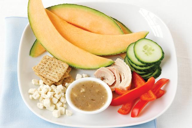 Assiette froide au thon à la méditerranéenne Image 1