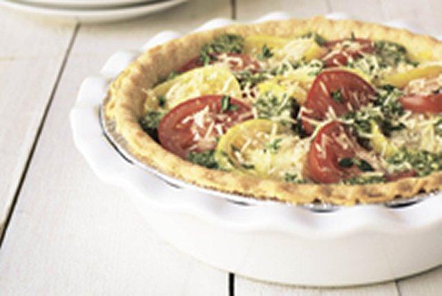 Tomato Pesto Tart Image 1