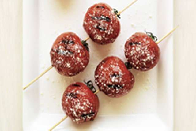 Barbecued Whole Tomatoes Image 1
