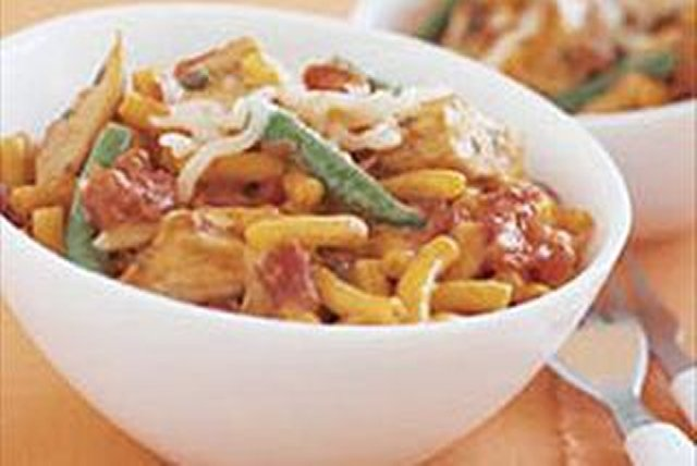 Cheesy Italian Chicken Mac Image 1
