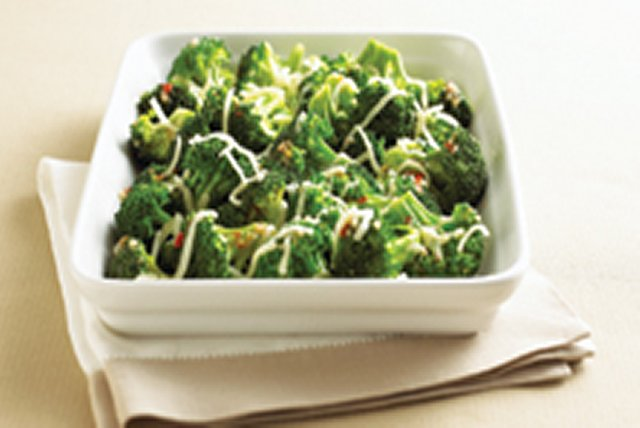 Quick Cheesy Broccoli Image 1
