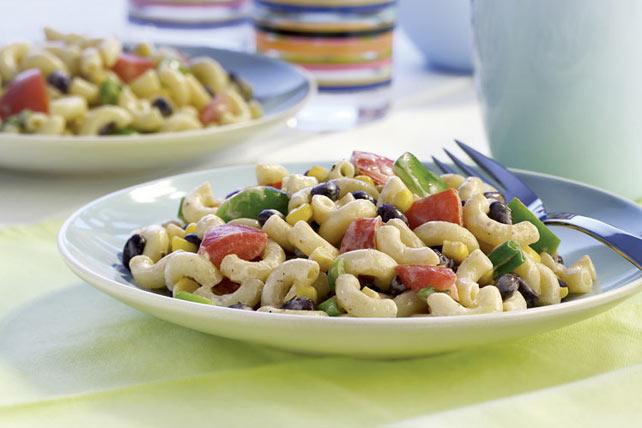 Creamy Southwestern BBQ Pasta Salad Image 1