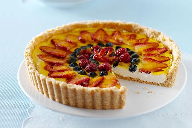 Cheesecake frutal de moras Image 1