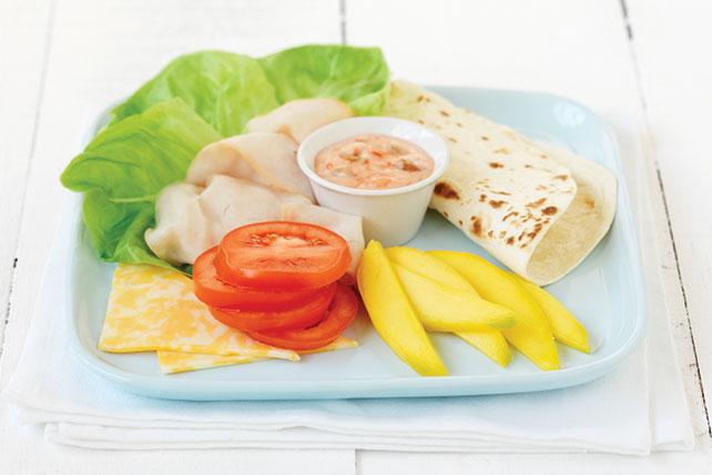 Plato frío de pavo y mango Image 1
