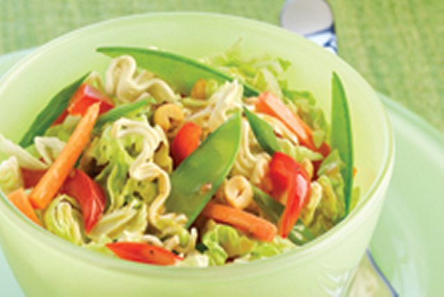 Shredded Asian Cabbage Salad Image 1