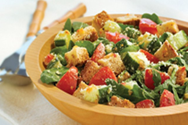 Zesty Bread Salad Image 1