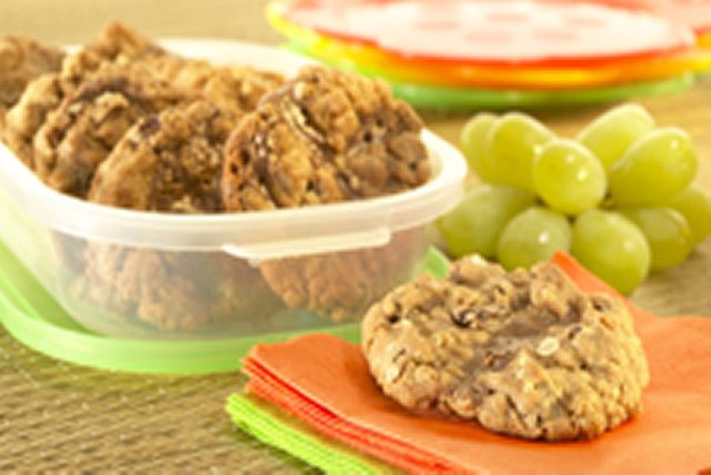 Chocolate, Peanut Butter & Oatmeal Raisin Cookies Image 1