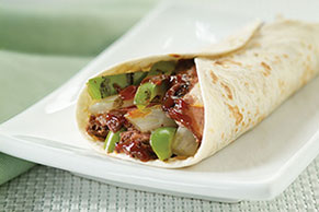 Spicy Flank Steak Fajitas