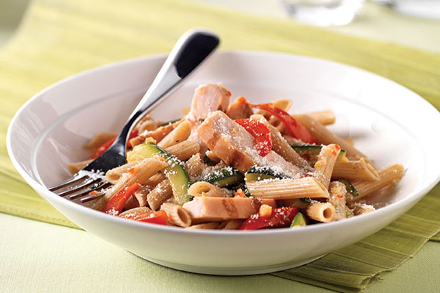 Zesty Italian Chicken Pasta with Vegetables