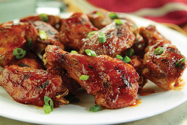Spicy Sesame Buffalo Chicken Wings Image 1